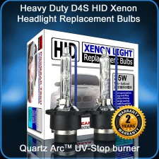 ProGear Tech Heavy Duty D4S D4R 12000K Twilight HID Xenon Headlight Replacement Bulbs (Pack of 2)