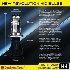55W 12V Heavy Duty Fast Bright H4 9003 Bi-Xenon Dual Beams HID Xenon Conversion Kit