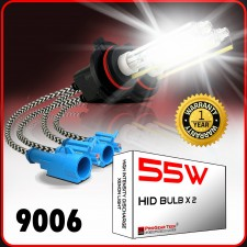 55W 9006/HB4 (they are same) Heavy Duty HID Xenon Replacement Bulbs (Pack of 2)