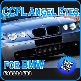 CCFL Angel Eyes Halo Rings E46 ti td Compact E83 X3