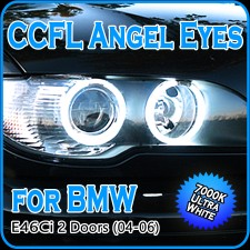 CCFL Angel Eyes Halo Rings E46 Ci facelift Coupe Convertible