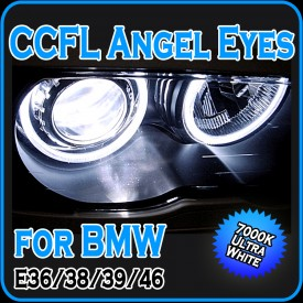 CCFL Angel Eyes Halo Rings E36 E38 E39 E46 with Projector Headlights