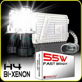 55W 12V Heavy Duty Fast Bright H4 9003 Bi-Xenon Dual Beams HID Xenon Conversion Kit