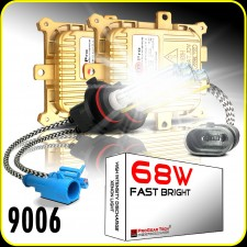 68W 9006(HB4) Heavy Duty Fast Bright AC Digital HID Xenon Conversion Kit