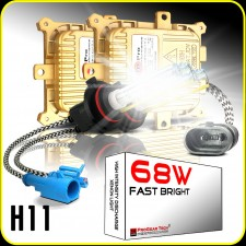 68W H8/H9/H11 (they are same) Heavy Duty Fast Bright AC Digital HID Xenon Conversion Kit