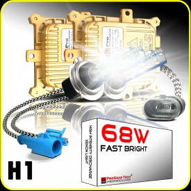 68W H1 Heavy Duty Fast Bright AC Digital HID Xenon Conversion Kit