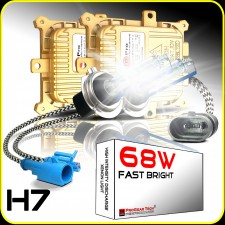 68W H7 Heavy Duty Fast Bright AC Digital HID Xenon Conversion Kit